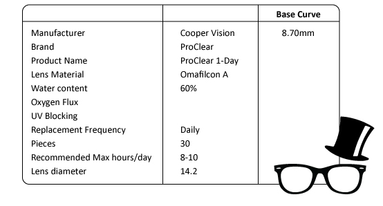 CooperVision-ProClear-1day-spec