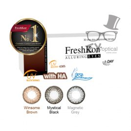 FreshKon® Alluring Eyes -Daily (30Lenses)