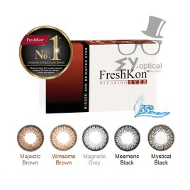 FreshKon® Alluring Eyes -Monthly