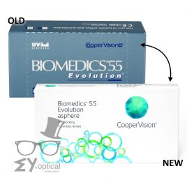 Cooper Vision® Biomedics® 55 Evolution®